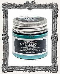 Finnabair - Art Alchemy - Metallique Acrylic Paint - Mermaid Teal
