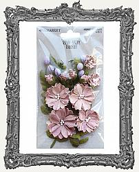 49 And Market Royal Spray Paper Flowers 15 Pieces - Orchid