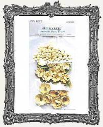 49 And Market Royal Posies Paper Flowers 49 Pieces - Sunshine