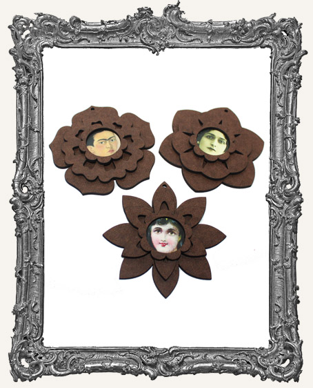 Fairy Bloom Flower Ornaments - Set of 3