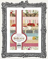 Bo Bunny Botanical Journal Noteworthy Paper Pad 6x8 Inch 36 Pages