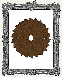 Mixed Media Creative Surface Board - Steampunk Saw Blade