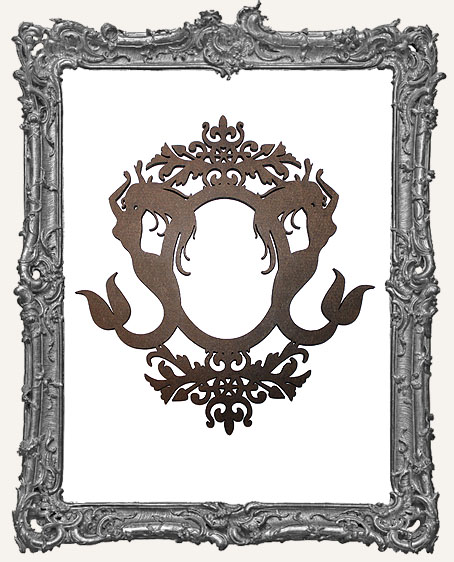 Large Ornate Mermaid Frame