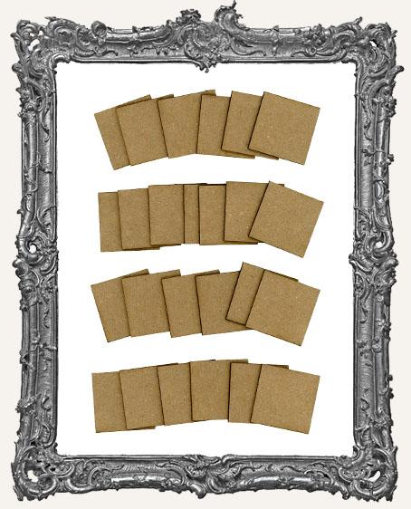 Bulk Chipboard Inchie Bases - Set of 25
