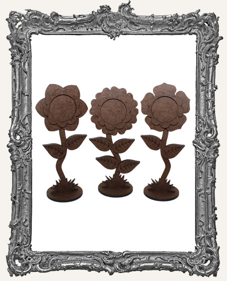 Stand Ups - Fairy Bloom Flowers Set of 3