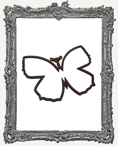 Layered Masonite Steampunk BASIC Butterfly Ornament