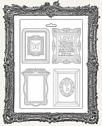 Stamperia A4 Soft Maxi Mould - Atelier Des Arts Frames