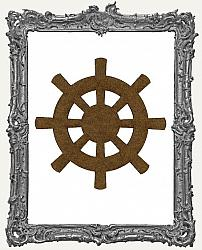 Mixed Media Creative Surface Board - Ship Wheel Style 1