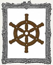 Mixed Media Creative Surface Board - Ship Wheel Style 2