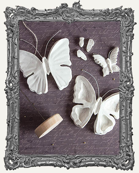 Sandra Evertson RELICS and ARTIFACTS - Archival Cast - Butterflies