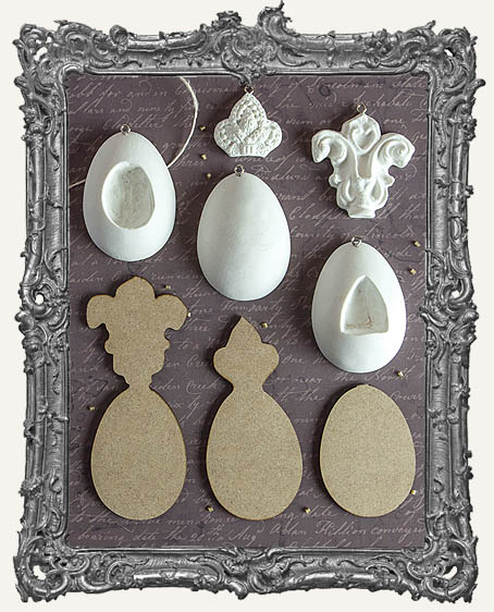 Sandra Evertson RELICS and ARTIFACTS - Archival Cast - Imperial Eggs