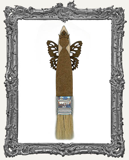 Skinny Paint Brush Articulated Art Doll Kit