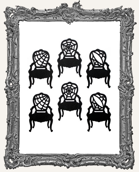 Haunted Mansion Antique Chair Cut-Outs - 6 Pieces