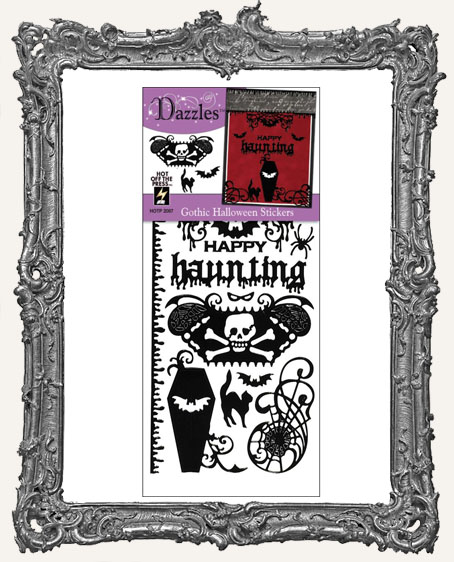 Dazzles Stickers - Black Gothic Halloween