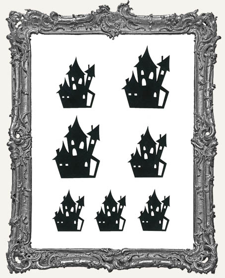 Eerie Haunted House Cut-Outs - 7 Pieces