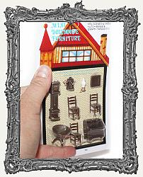 Extra Tiny Miniature Living Room Set - 9 Pieces