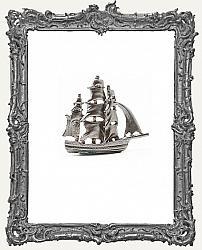 Miniature Metal Antique Ship