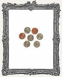 Miniature Coin Set - 7 Pieces