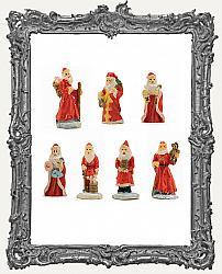 Miniature Santa Assorted Styles - One Piece Randomly Picked