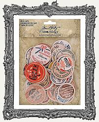 Tim Holtz - Idea-ology - Milk Caps