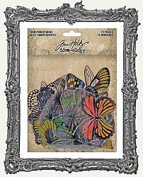 Tim Holtz - Idea-ology - Transparent Acetate Wings - Dragonflies and Butterflies