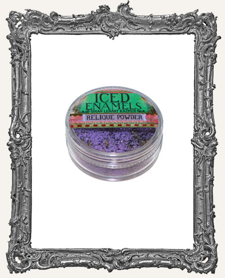 ICED Enamels Relique Powder - Amethyst