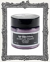 Finnabair - Art Alchemy - Sparks Acrylic Paint - Iris Potion