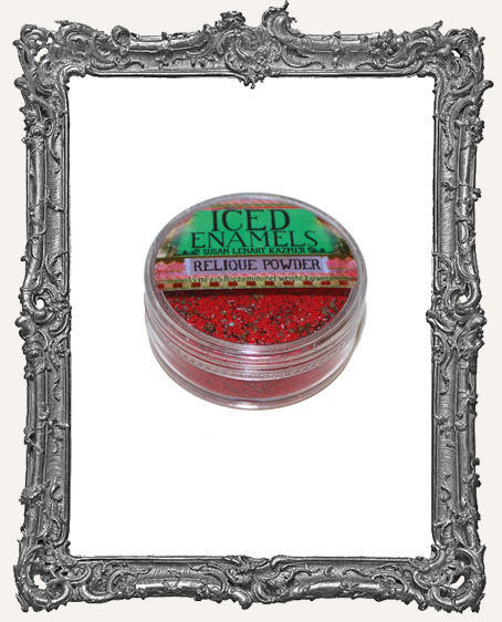 ICED Enamels Relique Powder - Garnet