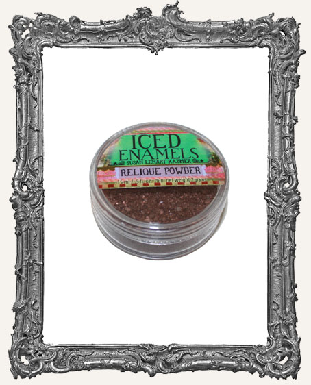 ICED Enamels Relique Powder - Torched Copper