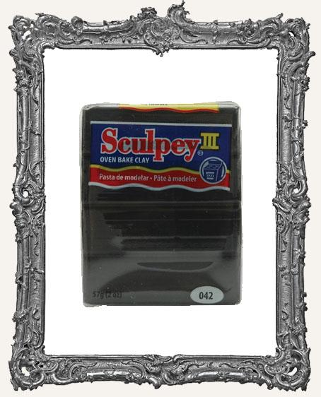 Sculpey III Polymer Clay 2oz - Black