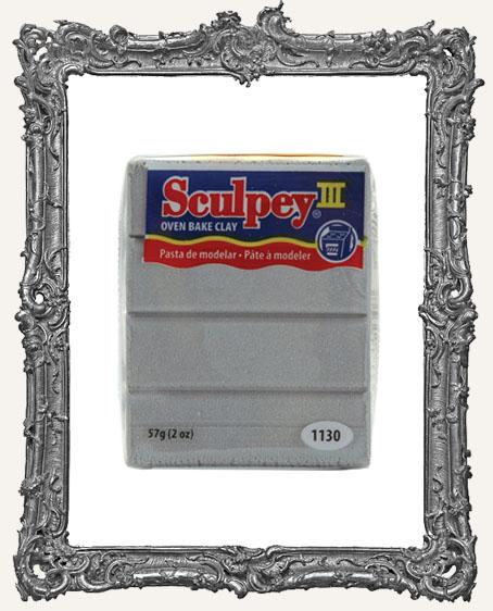 Sculpey III Polymer Clay 2oz - Silver