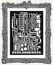 Stamperia Stencil - Circuit Board
