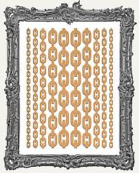 Chipboard Steampunk Classic Chain Cut-Outs - 10 Pieces
