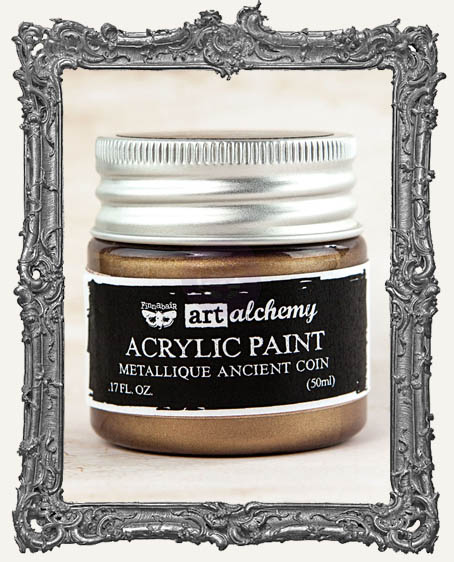 Finnabair - Art Alchemy - Metallique Acrylic Paint - Ancient Coin
