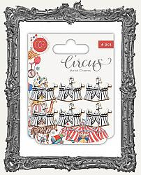 Craft Consortium Circus Metal Charms - Big Top
