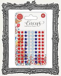 Craft Consortium Adhesive Pearls - Circus Stars