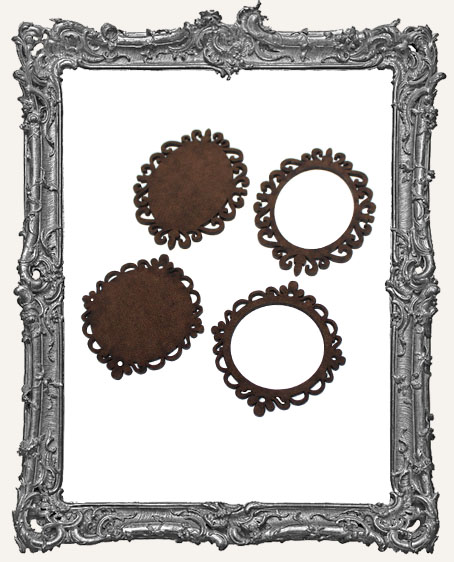 Extra Large Cameo Frames - 2 Sets