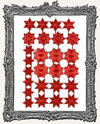 German Dresden RED Star Mix 26 Pieces