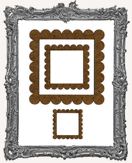Niche Frames - Scalloped - 3 Sizes