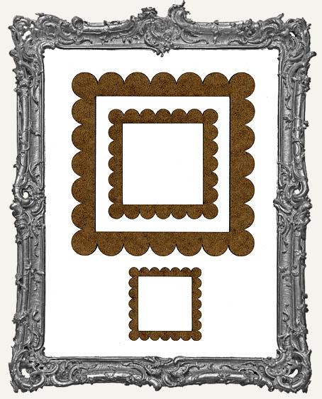Niche Frames - Scalloped - 3 Sizes