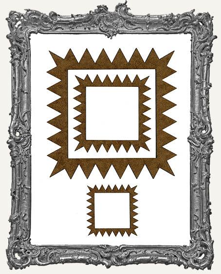 Niche Frames - Serrated - 3 Sizes