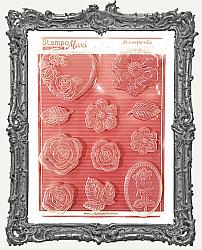 Stamperia A4 Soft Maxi Mould - Roses