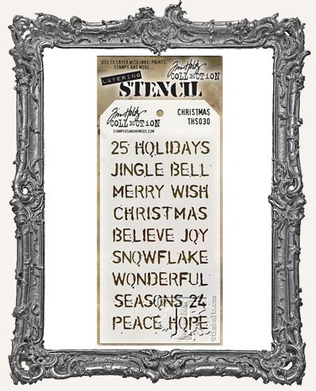 Tim Holtz Layering Stencils - Christmas