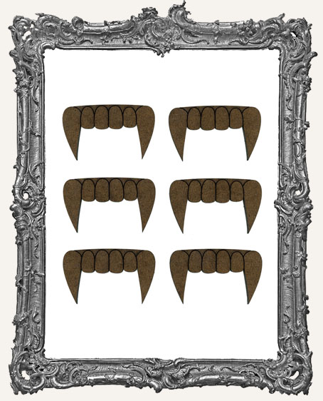 ATC Vampire Fang Cut-Outs - 6 Pieces