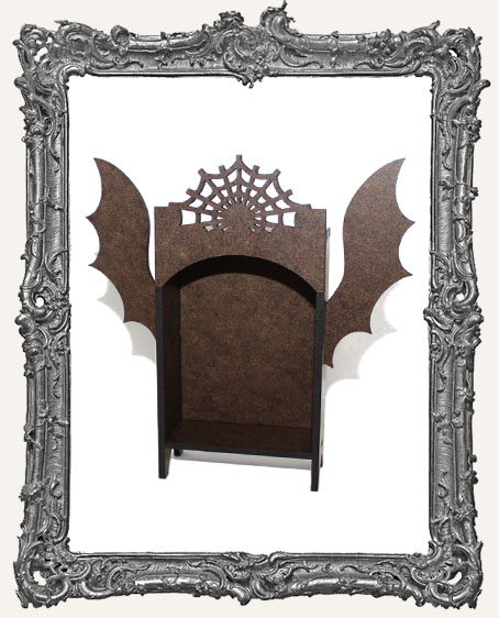 ATC Hutch Shrine Kit - Halloween with Bat Wings