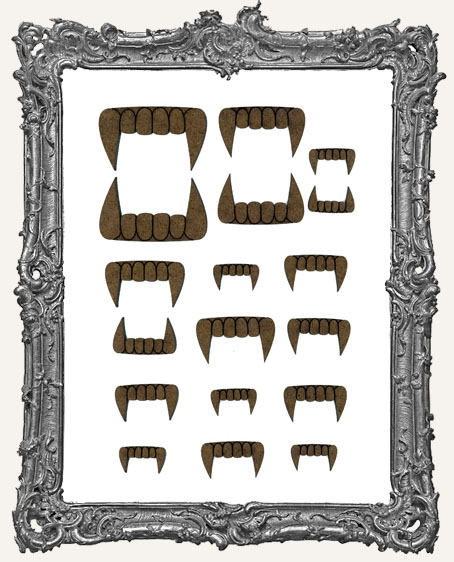 Halloween Vampire Fang Cut-Outs - 18 Pieces