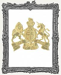 German Dresden Gold Coat of Arms 6 Pieces