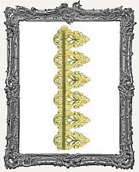 German Dresden Border Strip Gold Festoon