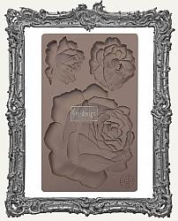 Prima Art Decor Mould - Etruscan Rose