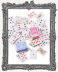 Extra Small Miniature Playing Cards